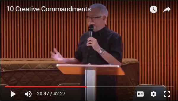 Ten Creative Commandments