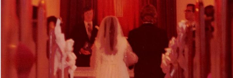 JIM AND LOIS' WEDDING 1974