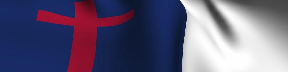 Rendered Christian Flag