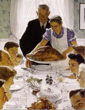 thanksgivingnormanrockwell