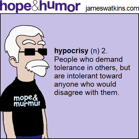 Hope and Humor cartoon by James Watkins