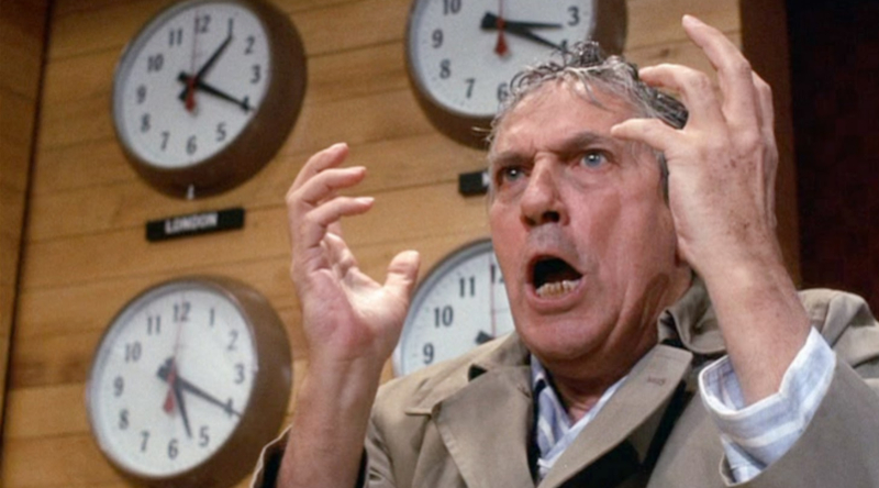 Howard Beale: Made prophet of the airwaves