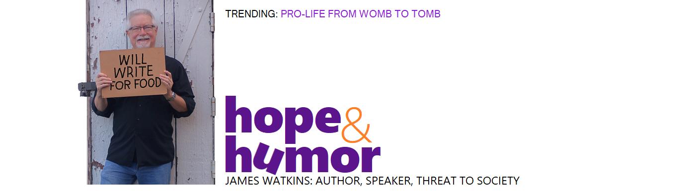 James Watkins: Hope & Humor