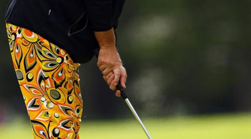 Golf pants wild