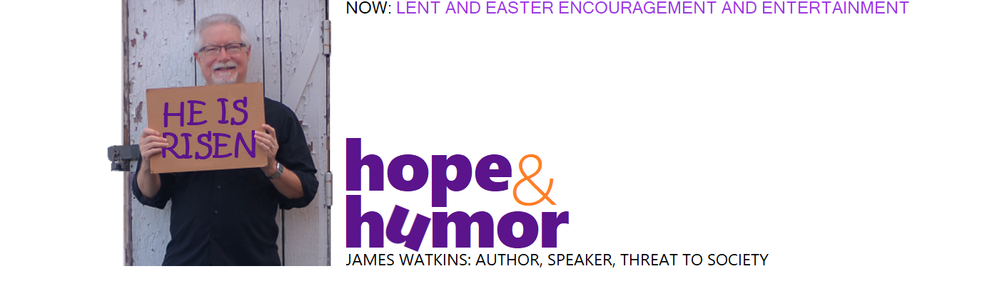 James Watkins: Hope & Humor