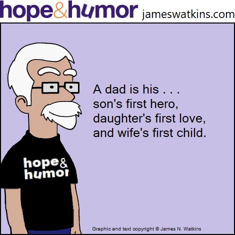 Father's Day cartoon