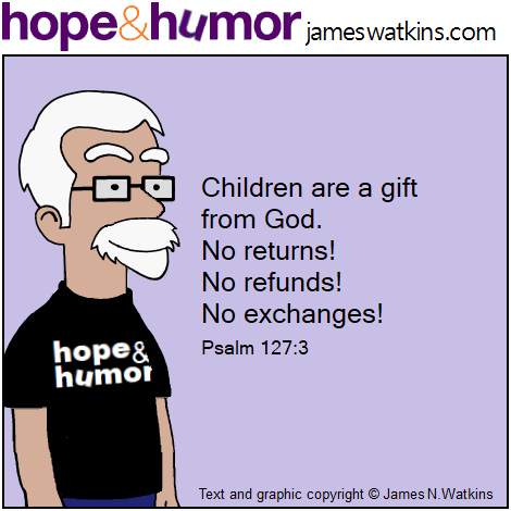 Children are a gift